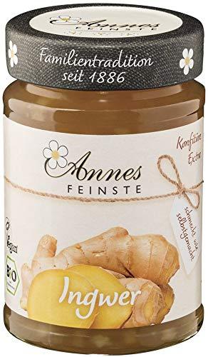 Annes Feinste Bio Bio Ingwer Konfitüre extra (2 x 225 gr) (Bio-marmelade)