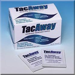 TORBOT TacAway Adhesive Remover Wipes (Box of 50) by Torbot