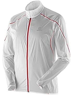 Salomon S-Lab Light Jkt M - Chaqueta, para hombre, color blanco, talla XS