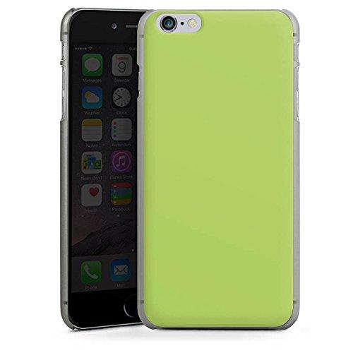 Apple iPhone SE Tasche Hülle Flip Case Lindgrün Frühling Grün Hard Case anthrazit-klar