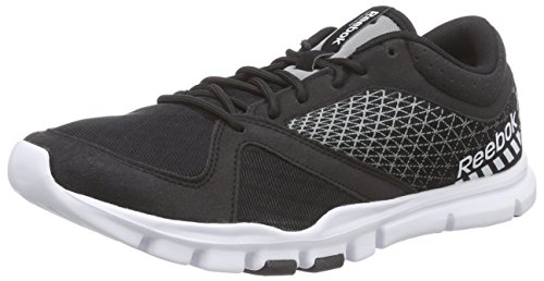 ReebokYourflex Train 7.0 - Scarpe fitness uomo Nero (Schwarz (Black/Flat Grey/White))