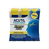 Acutil Fosforo Energy Shot Pronti da Bere Integratore Alimentare - 3 flaconi