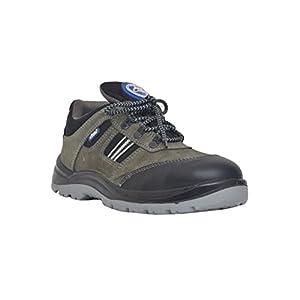 Allen Cooper 1156 Men's Safety Shoe, Gray