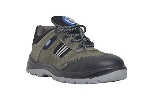 Allen Cooper 1156 Men's Safety Shoe, Gray