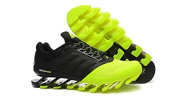 Buy Adidas Men's neon green and Black Mesh Springblade Drive ...