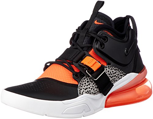 erren Hi Top Trainers AH6772 Sneakers Schuhe (UK 7 US 8 EU 41, Black Hyper Crimson Wolf Grey 004) ()