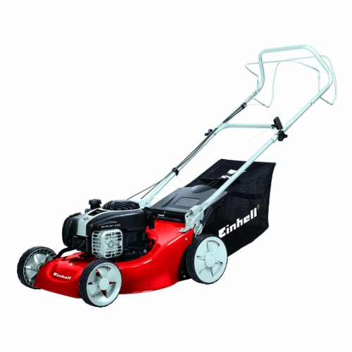 EINHELL GC-PM 46/1 S B&S - CORTACESPED DE GASOLINA CON TRACCION (1650 W  DEPOSITO PARA CESPED: 50 L  SUPERFICIES DE CESPED DE HASTA 1 400 M²)