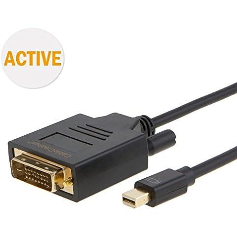 CableCreation (Active) Mini DisplayPort (Thunderbolt porta compatibile) a DVI per