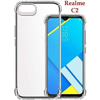 Jkobi Silicone Back Cover for Realme C2 - Transparent