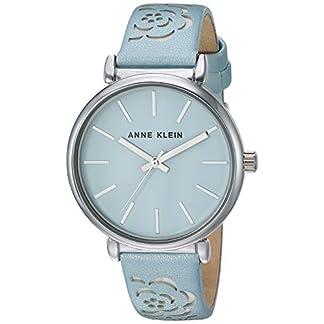 Anne Klein – Reloj de Pulsera para Mujer (Correa de Piel), diseño Floral