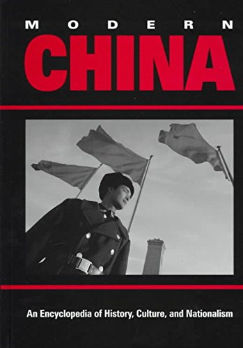 [Modern China: An Encyclopedia of History, Culture, and Nationalism] (By: Wang Ke-Wen) [published: December, 1997]