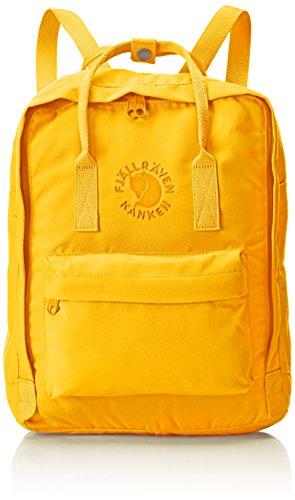 Fjällräven Re-Kånken Unisex 16l Rucksack, Sunflower Yellow, 38 X 27 X 13 cm