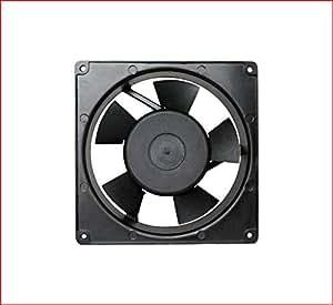Maa-Ku 220V Aluminium Die Cast & Plastic Kitchen Exhaust Fan (17x17x5 CM)(Black)