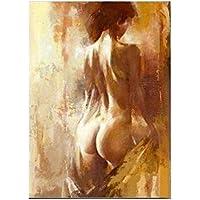 XIAOXINYUAN 100% Dipinte A Mano Nudo Astratta della Pittura A Olio Donne  Moderni Quadri Home 678dc3dbe2d9