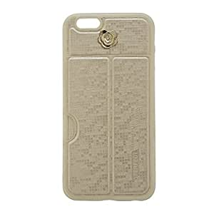 High Quality silicone case with stand designed by delson co case for I phone 6 4.7 inch