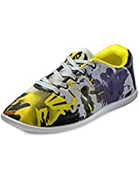 Yepm Men's Multi-Coloured Synthetic Casual Shoes