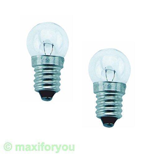 Preisvergleich Produktbild 4 Stk Fahrrad Glühbirnen 2 x OSRAM: 6V 2.4W + 2 x Trumpf: 6V 0.6 01010515_4