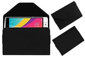 Acm Premium Pouch Case For Oppo N3 Flip Flap Cover Holder Black
