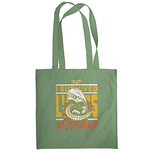 Texlab–Never mind–sacchetto di stoffa Oliva