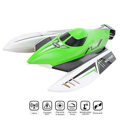 ZNHL Brushless Fernbedienung Boot, Vollumfahrung, automatische Flip-Rückgewinnung, 2.4 Ghz Trägerrakete, Boot nautische Erwachsene und Kinder Modellspielzeug,Green