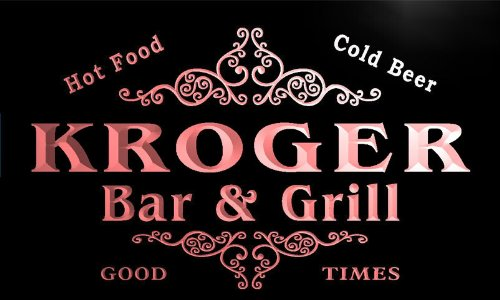 u24520-r-kroger-family-name-bar-grill-home-beer-food-neon-sign-barlicht-neonlicht-lichtwerbung