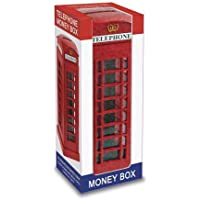 Large Telephone Booth / Phone Box London Souvenir Money Box Bank Souvenir! Souvenir / Speicher / Memoria! A Collectible, Distinctive, London, England British UK Collectible at Wonderfully Discounted Prices! A One-of-a-kind London Souvenir! / Plastic With Metal Parts by My London Souvenirs