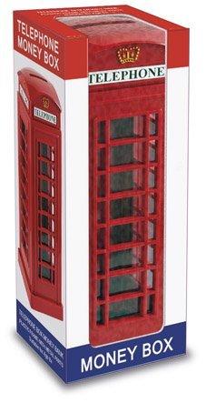 h / Phone Box London Souvenir Money Box Bank Souvenir! Souvenir / Speicher / Memoria! A Collectible, Distinctive, London, England British UK Collectible at Wonderfully Discounted Prices! A One-of-a-kind London Souvenir! / Plastic With Metal Parts by My London Souvenirs ()