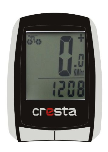 Cresta Fahradcomputer PFC560, schwarz / silber, 7590601