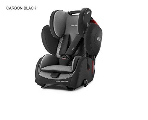 recaro-62032150266-seggiolino-auto-per-bambini-young-sport-hero-carbon-nero