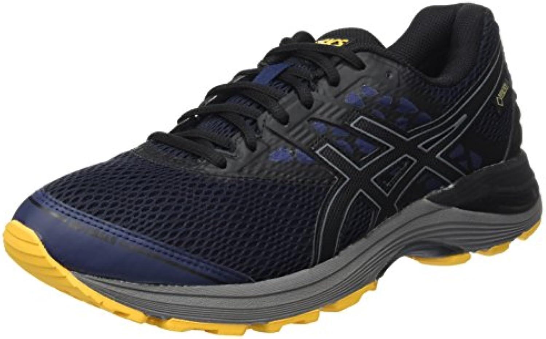 98cf75fb5f6ac4 asics gel hommes & eacute; eacute; eacute; le 9 g-tx gymnastique chaussures,  violet nuit / noir / jaune orang atilde b071z457tb par ent ; | Discount  ec0901
