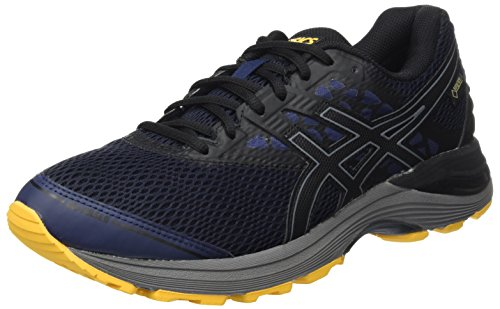 ASICS Gel-Pulse 9 G-TX, Scarpe Running Uomo, (Peacoat/Black / Gold Fusion), 43.5 EU