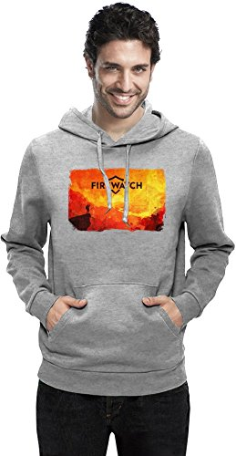 Red Firewatch Mann Hoodie XX-Large