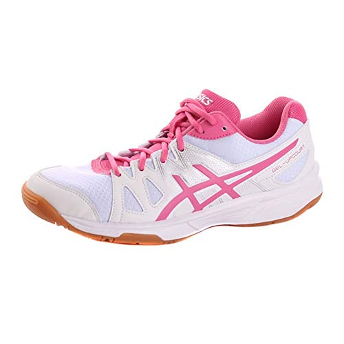 ASICS Gel-Upcourt GS, Scarpe da Badminton Bambina, Multicolore Azalea Pink/White, 39.5 EU