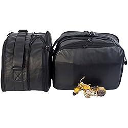 m4b: BMW R1200RT R1200R K1200GT K1300GT: Bolsas interiores para maletas laterales moto -- cuero de alta calidad (vaca)