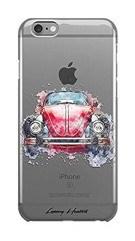 Luxus Cars/Sports Cars Zeichnung Malerei Splash Effect transparent Hard Plastic Case Cover Shell für Apple iPhone Design von luxuryhunters®, Beatle, Iphone 7