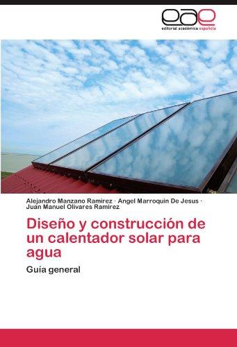 Diseño y construcción de un calentador solar para agua