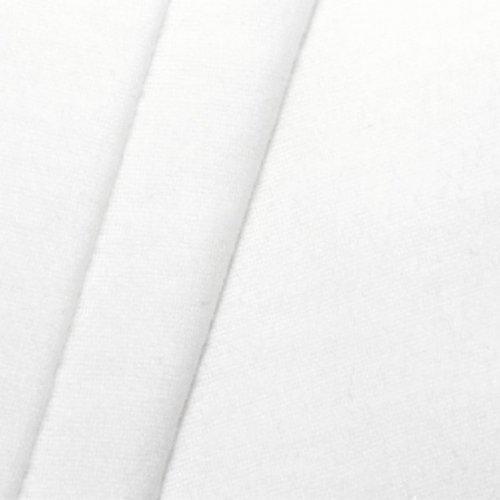 B1 Deko - Molton Stoff Meterware Breite 300cm Weiss
