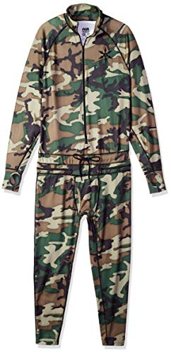 AIRBLASTER Herren Kapuzenjacke Ninja Anzug, Herren, Men's Hoodless Outdoor Base Layer Ninja Suit, Camouflage, XX-Large