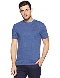 Levi's Men's Solid Regular Fit T-Shirt
