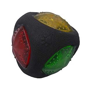 Petper - Cw-0035EU Balle légère pour chat et chien avec lumière LED clignotante