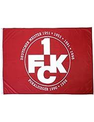 Hissflagge 1. FC Kaiserslautern Erfolge - 120 x 180 cm + gratis Aufkleber, Flaggenfritze®