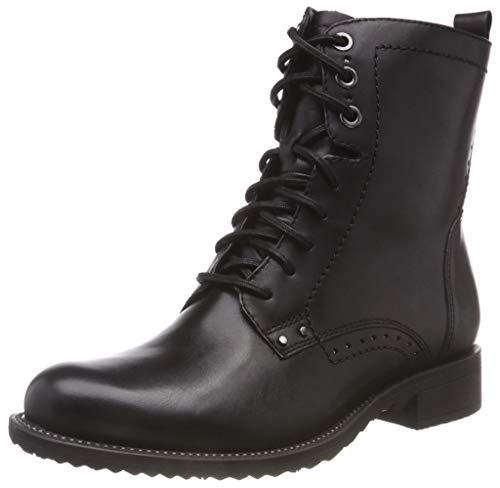 Tamaris Damen 25217-21 Combat Boots, Schwarz (Black 1), 39 EU