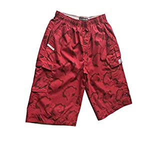New Abercrombie & Fitch - Men - Wide Fit 3/4 Shorts Original Brand - Colour Red/Pink - Style ARBO 96 - Size M (32 waist)