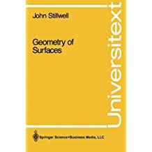Geometry of Surfaces (Universitext) by John Stillwell (2013-10-04)