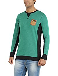 Indian Polo Men's Cotton T-Shirt (DTS123--XL, Green, X-Large)
