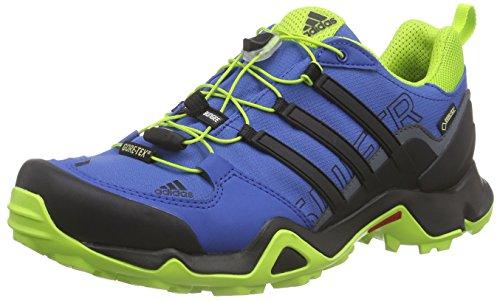 adidas Terrex Swift R, Chaussures de Randonnée Basses Homme Bleu (Eqt Blue S16/Core Black/Eqt Green S16)
