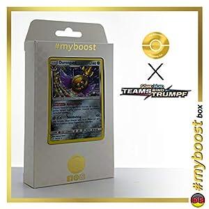 Durengard (Aegislash) 109/181 Holo - #myboost X Sonne & Mond 9 Teams Sind Trumpf - Box de 10 Cartas Pokémon Alemán