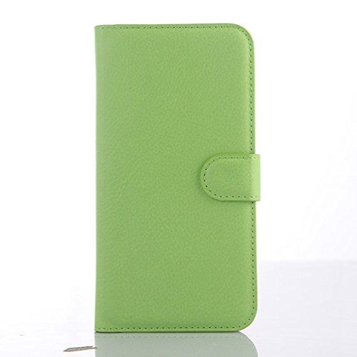 """Manyip Téléphone Coque - PU Cuir rabat Wallet Housse [Porte-cartes] multi-Usage Case Coque pour pour Alcatel One Touch Idol 3 (5.5"""") Classique Mode affaires Style(JFC3-6) G"""