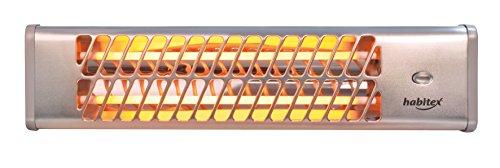 Habitex 9310R332 E332 1 Wand-Heizstrahler, Quarz