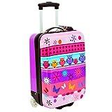 Valise cabine 50 cm Violet Enfant Snowball